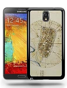Leonardo Da Vinci Art Artwork Sketch Painting Phone Case Cover Designs for Samsung Galaxy Note 3