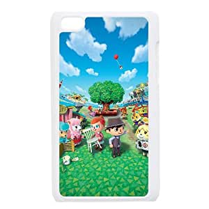 iPod Touch 4 Case White Animal Crossing New Leaf J6N4LE