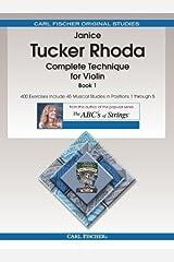 Complete Technique for Violin, Book 1 Paperback