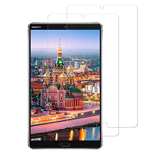 [1 Pack] Huawei MediaPad M5 8.4 Screen Protector, KATIAN HD Clear Protector [Anti-Scratch] [No-Bubble] [Case-Friendly], 9H Hardness Tempered Glass Screen Film for Huawei MediaPad M5 8.4