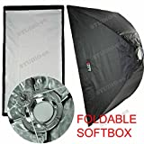 32 X 48 Inch Foldable Umbrella Like Collapsible Rectangular Softbox (80 X 120 Cm) + Ring for Bowens Gemini Esprit Flash Light