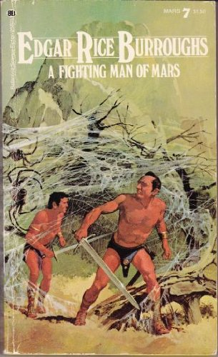 book cover of A Fighting Man of Mars