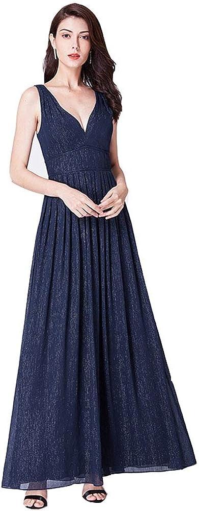 Seasail Long Ever Pretty A-line V-Neck Elegant Vestido Largo ...
