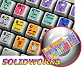 New SOLIDWORKS Keyboard Stickers Decals for Desktop, Laptop and Notebook