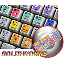 NEW SOLIDWORKS KEYBOARD STICKERS FOR DESKTOP, LAPTOP AND NOTEBOOK