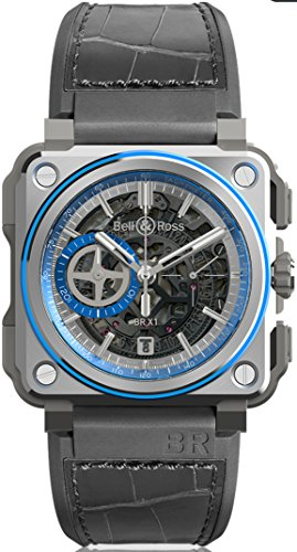 Bell & Ross BR-X1 HYPERSTELLAR Limited Edition of 250 pieces. BRX1 Blue Anodized Aluminium