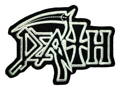 DEATH Music Songs Heavy Metal t Shirts Logo MD01 Iron on Patches by MartOnNet Music Patch   B00DJQQTIO