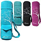 Deco Athletic Teal Yoga Mat Bag. Choose Your Color – fits up to 25in mat and Blanket, 2 Large Pockets, Room for Water Bottle & Towel. One Tree Planted for Every Bag Purchased! For Sale