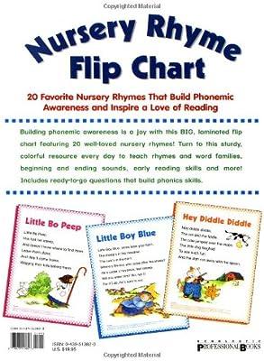Nursery Rhyme Flip Chart: 20 Favorite Nursery Rhymes That Build