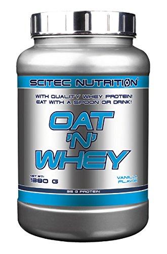 Scitec nutrition oat n whey, 1380gr. proteína + avena
