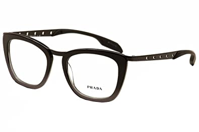 Amazon.com: Prada anteojos pr60rv tv71o1 Negro Degradado ...