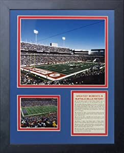 "Legends Never Die ""Buffalo Bills Ralph Wilson Stadium"" Framed Photo Collage, 11 x 14-Inch"