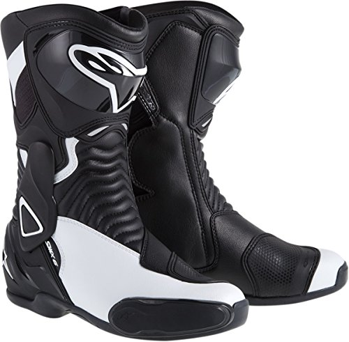 Smx 1 Riding Shoes - NEW ALPINESTARS STELLA SMX-6 PERFORMANCE RIDING WOMENS SPORT-FIT BOOTS, BLACK/WHITE, EUR-40/US-8.5