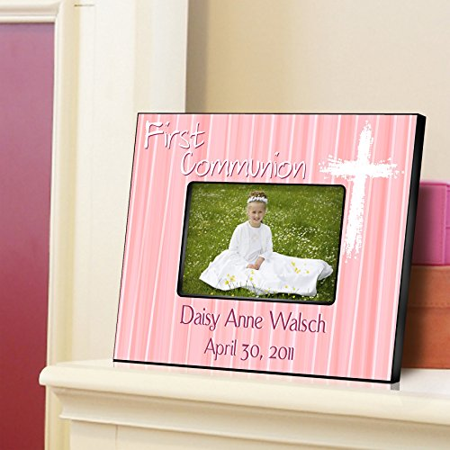 Personalized First Communion Picture Frame - Custom First Communion Gift - First Communion Picture Frame - Light of God