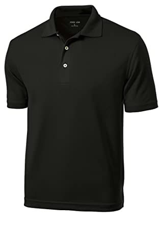 26fa5677329 Amazon.com  Men s Golf Polos - Dri-Mesh Moisture Wicking Golf Shirts ...