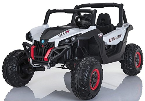 HUGE- POWERFUL! One Of the BIGGEST Ride on Car On the Market! to 24V in Total! REAL 2 SEATER! +shock absorbers+4 MOTORS+3 SPEEDS! REMOTE CONTROL! Ride on POWER WHEELS children - Motor Electric Real