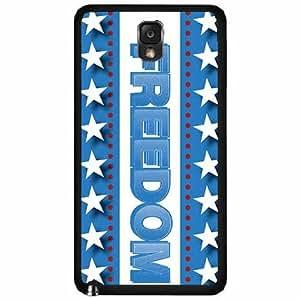 Freedom Plastic Phone Case Back Cover Samsung Galaxy Note III 3 N9002