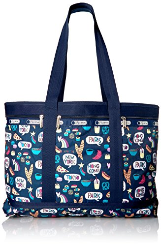 - LeSportsac Classic Travel Tote, Food Talk