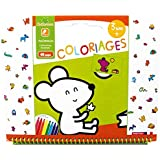 Sycomore - Coloriages - 40 Pages - 3 ans - Animaux - CRE6013