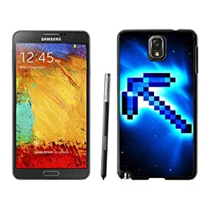 Minecraft(4) Black Samsung Galaxy Note 3 Screen Cover Case Grace and Durable Protective