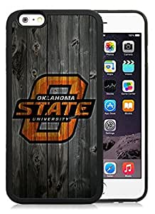 Customized Iphone 6 Case with NCAA Big 12 Conference Big12 Football Oklahoma State Cowboys 10 Protective Cell Phone TPU Cover Case for Iphone 6 Generation 4.7 Inch Black