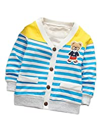 DIIMUU Toddler baby Boy Clothes Cotton Clothing Blouson Coat Jacket