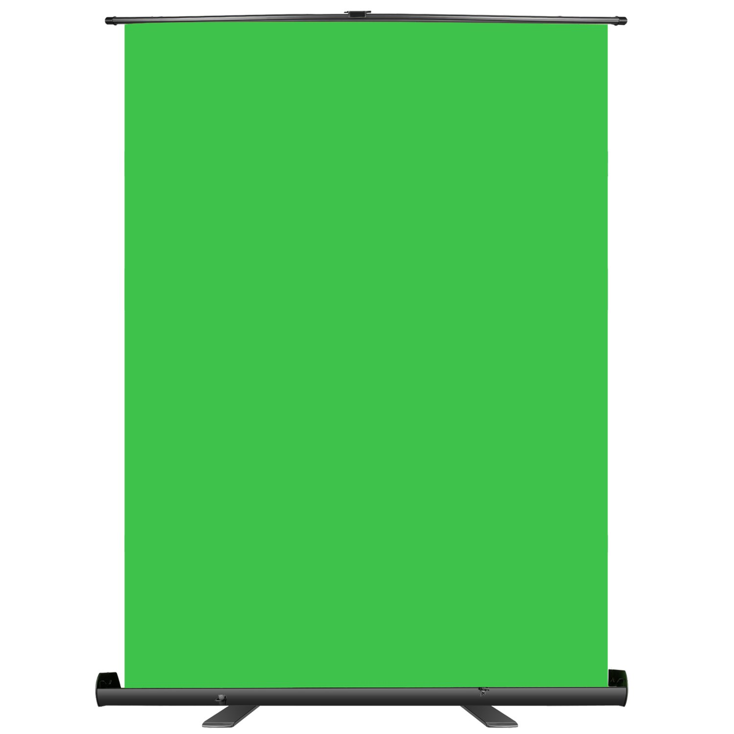 Neewer Green Screen Backdrop, Pull-up Style, Portable Collapsible Chromakey Background with Auto-locking Frame, Wrinkle-resistant Fabric,Solid Aluminium Base, for Photo Video, Live Game,Virtual Studio