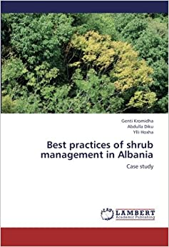 Book Best practices of shrub management in Albania: Case study