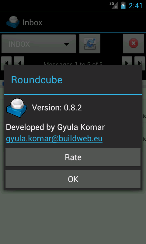 roundcube pour android