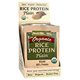 Nutribiotic Organic Rice Protein Packets, Plain, 12 Count For Sale