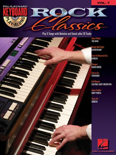 Rock Classics: Keyboard Play-Along Volume 7