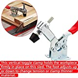8PCS Toggle Clamp 201B Hold Down Clamp 220 lbs