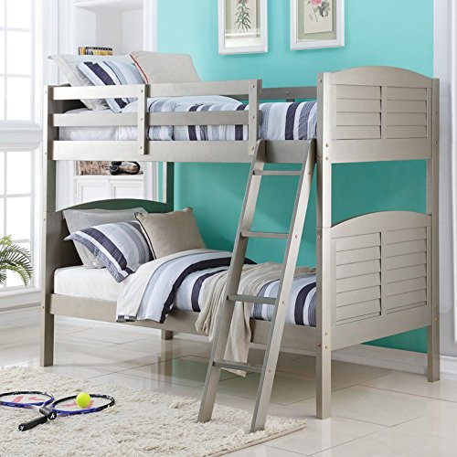 Donco Shutter Twin over Twin Bunk Bed - Ttp Shops