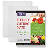 Flexible Plastic Cutting Board Mats set