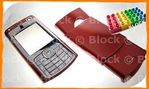Block Entertainment (TM)–Nokia N70–Tapa de Batería de Recambio para (rojo)
