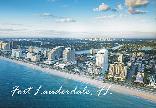 Fort Lauderdale Beach, Florida, FL, Souvenir Magnet 2 x 3 Photo Fridge - Stores Florida In Fort Lauderdale