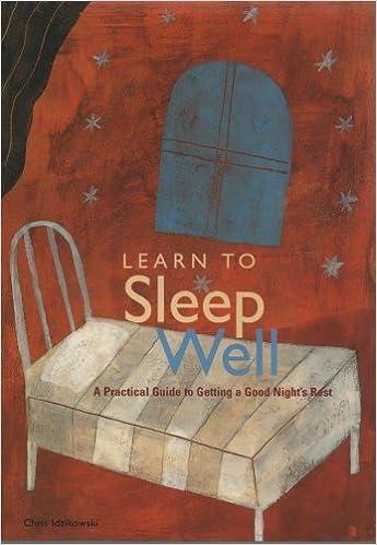 Book LEARN TO SLEEP WELL.