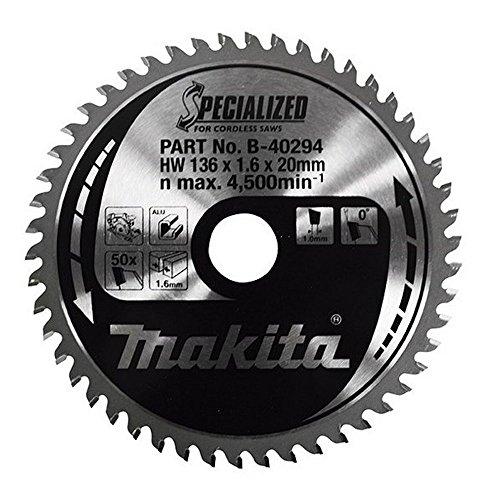 Makita a-95037TCT hoja de sierra 5–3/8-inch por 5/20.3cm por 30T