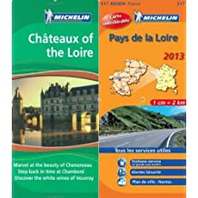 MIchelin Green Guide Pack : Chateaux of the Loire Green Guide in English plus map