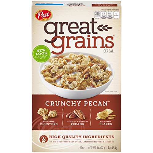 Post Great Grains Crunchy Pecans Whole Grain Cereal 16 oz. (Great Grains Cereal)