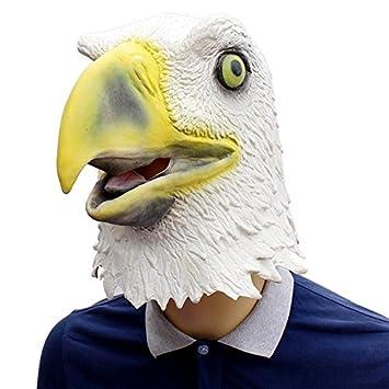 Nyrgyn Máscara De Látex De Águila Blanca