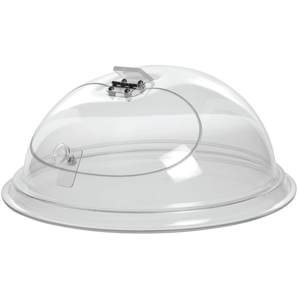 Cal-Mil Clear Acrylic Self-Closing Door in Dome - 10'Dia x 6'H CAL MIL PLASTIC PRODUCTS INC