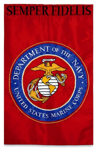 Flag Applique Gar Marines by Evergreen
