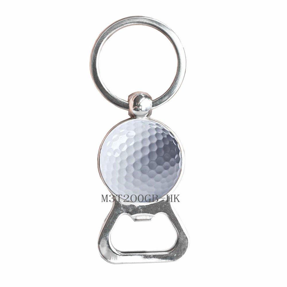 Llavero abrebotellas de golf, joyería de golf, regalo de ...
