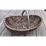 Nutley's Medium Rustic Willow Vegetable Trug Basket