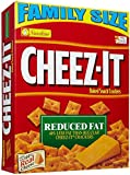 Cheez-It Baked Snack Crackers - Family Size Reduced Fat - 19 oz