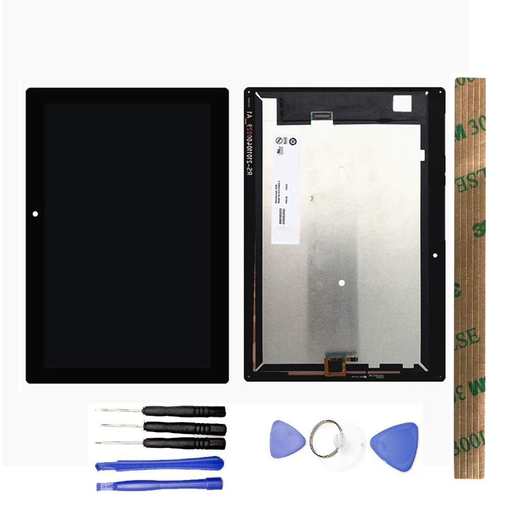 JayTong LCD Display & Replacement Touch Screen Digitizer Assembly with Free Tools for Lenovo Tab 2 A10-30 YT3-X30 X30F TB2-X30F X30 A6500 Black