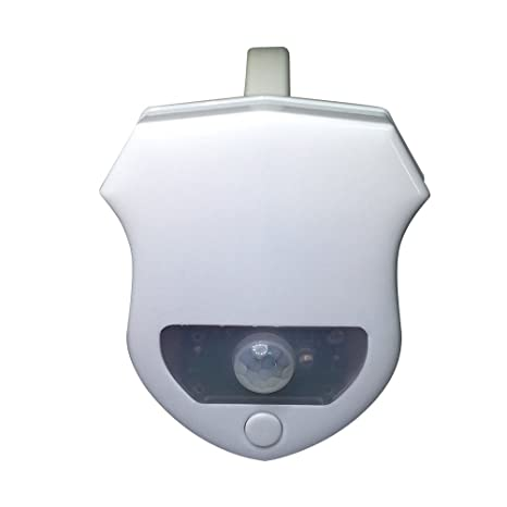 Luz del sensor de inodoro activada por movimiento de 16 colores, LEDMOMO Sensor de luz