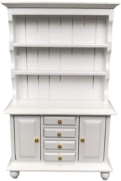 SITTING TUB White Floral Design DOLLHOUSE MINIATURES 1:12 Scale Vintage Style