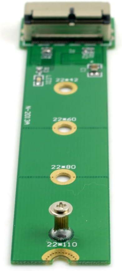 Yibuy M.2 NGFF PCI-E SSD to PCI Express Host Adapter Support Windows Mac